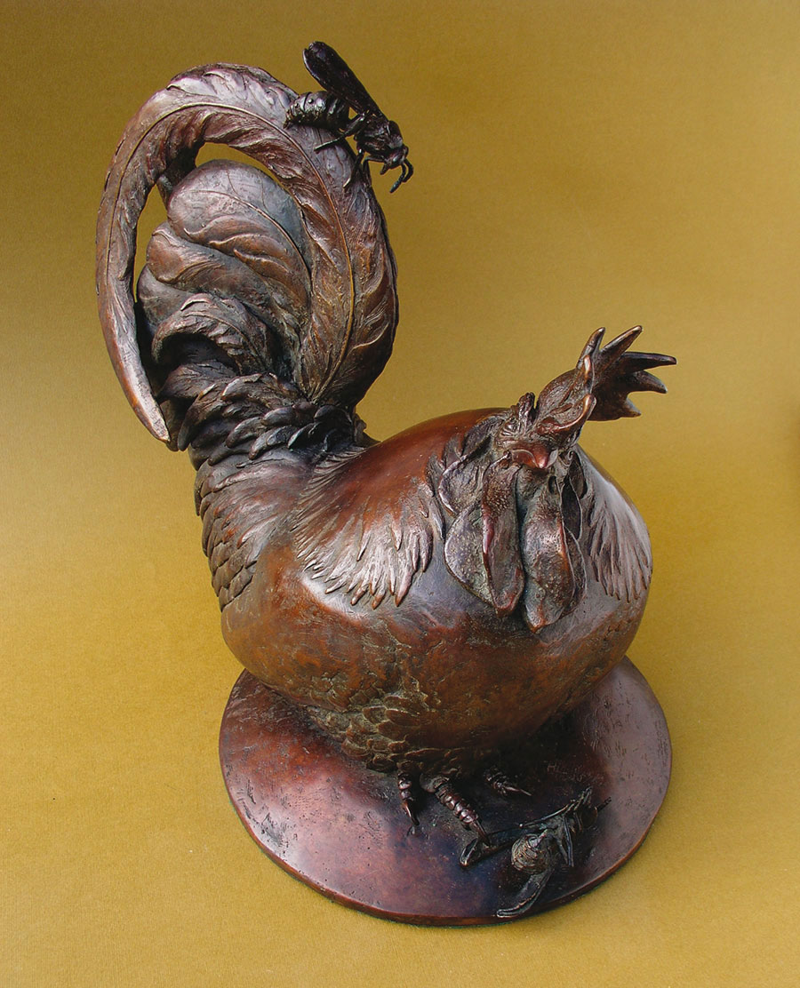 Past Sins - bronze sculpture